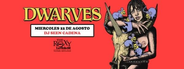 THE DWARVES en Buenos Aires @ The Roxy - La Viola Bar | Buenos Aires | Argentina