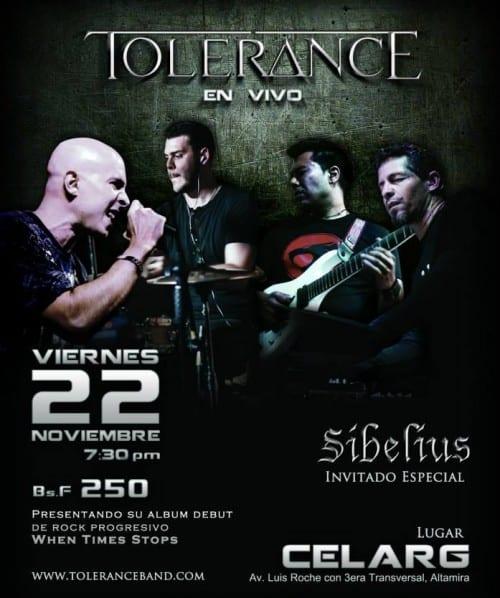 Tolerance Sibelius