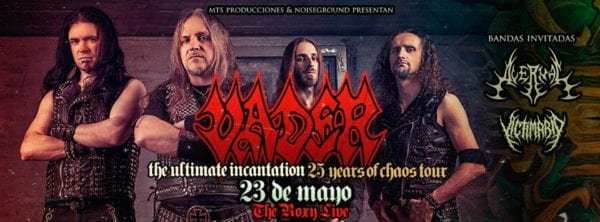 VADER en Buenos Aires @ The Roxy Live | Buenos Aires | Argentina