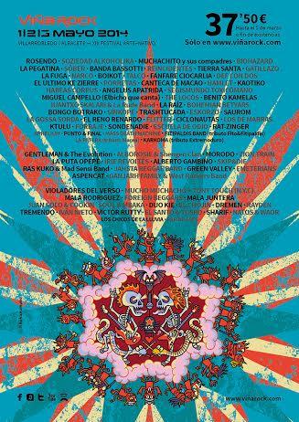 Viña Rock Festival Cartel