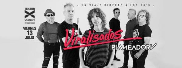 VIRALISADOS y PLANEADOR V en Buenos Aires @ Teatro Vorterix | Buenos Aires | Argentina