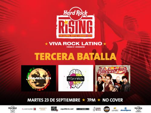 Viva Rock Latino 2014 3ra batalla
