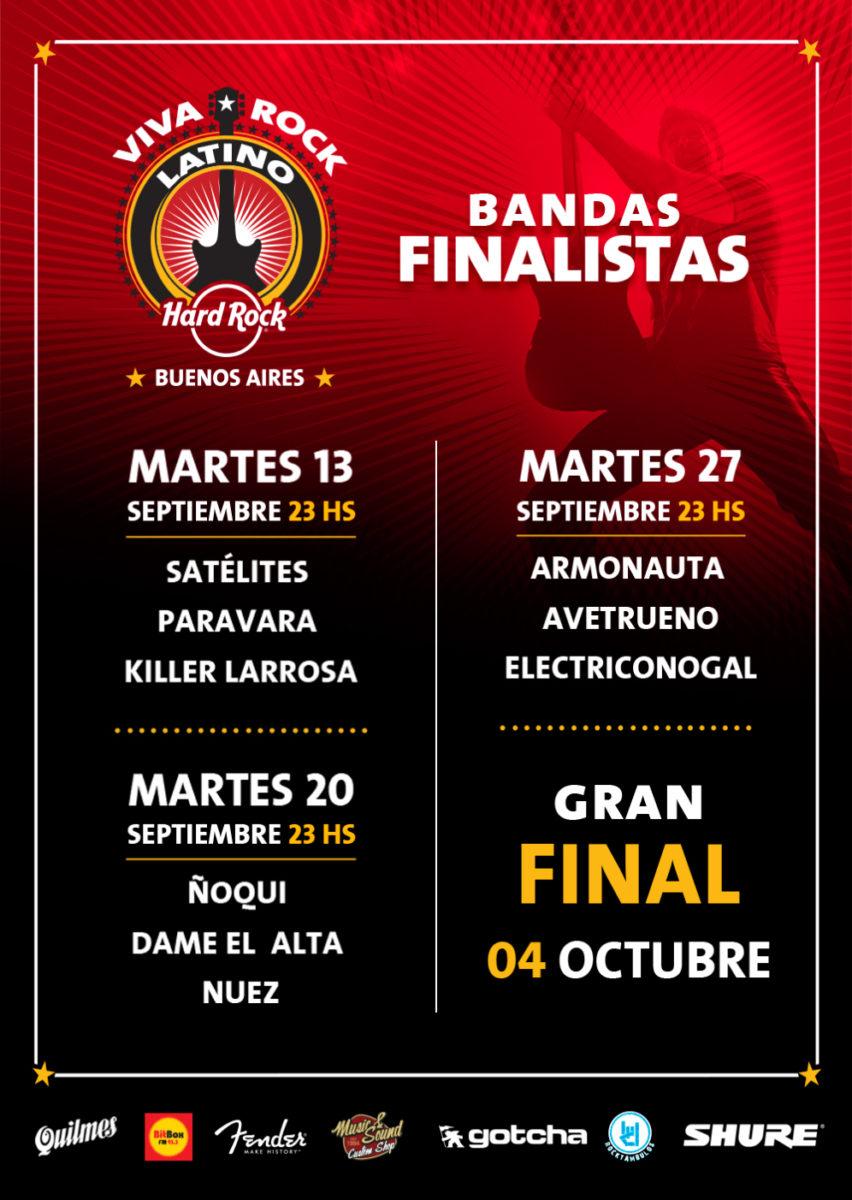 Viva Rock Latino BsAs FINALISTAS