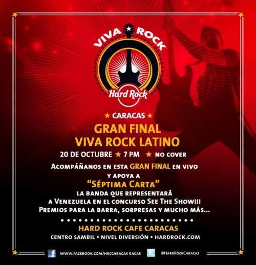 Viva Rock Latino Final Internacional