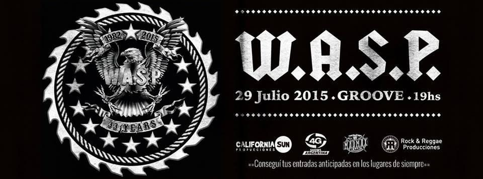 W.A.S.P. cancela su gira sudamericana. Lee el comunicado oficial