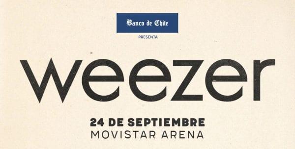 WEEZER en Santiago 2019 @ Movistar Arena