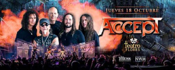 ACCEPT en Buenos Aires @ Teatro  Flores | Buenos Aires | Argentina