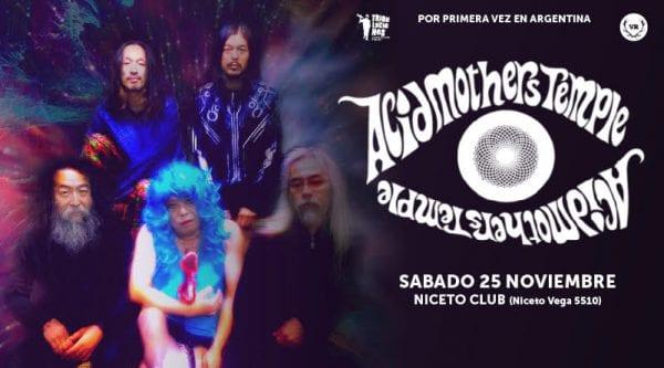 ACID MOTHERS TEMPLE en Niceto Club, Buenos Aires @ Niceto Club. | Buenos Aires | Argentina