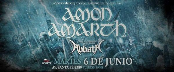 AMON AMARTH & ABBATH en Buenos Aires. @ Groove. | Ciudad Autónoma de Buenos Aires | Argentina