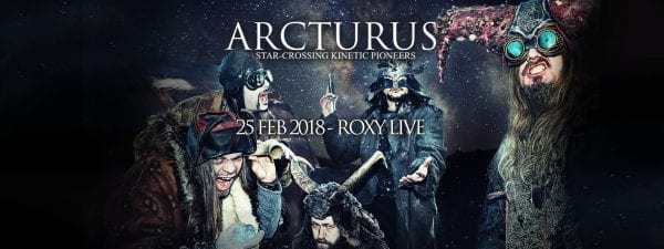 ARCTURUS en Buenos Aires @ The Roxy Live | Buenos Aires | Argentina