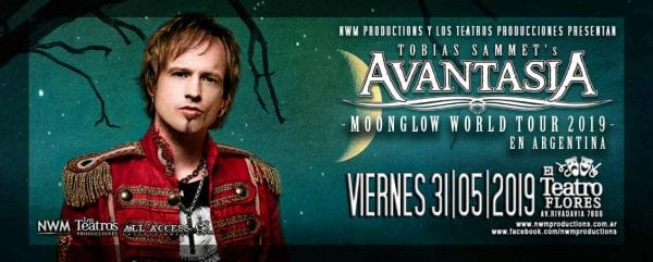AVANTASIA en Buenos Aires @ Teatro Flores