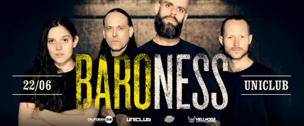 BARONESS en Buenos Aires @ Uniclub
