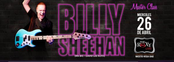 BILLY SHEEHAN MASTERCLASS en Buenos Aires. @ The Roxy Live. | Ciudad Autónoma de Buenos Aires | Argentina
