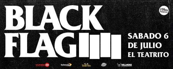 BLACK FLAG en Buenos Aires @ El Teatrito
