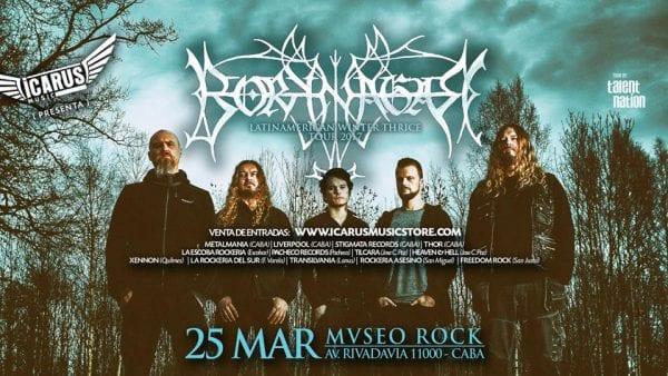 BORKNAGAR por primera vez en Argentina @ Mvseo Rock | Ciudad Autónoma de Buenos Aires | Argentina
