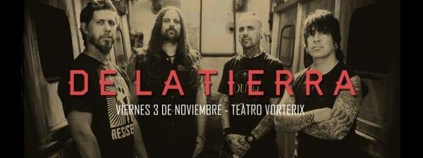 DE LA TIERRA en el Teatro Vorterix, Buenos Aires @ Teatro Vorterix. | Buenos Aires | Argentina