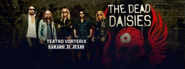 THE DEAD DAISIES en Buenos Aires. @ Teatro Vorterix. | Buenos Aires | Argentina