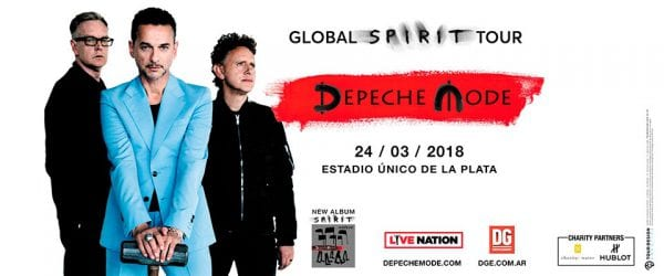 DEPECHE MODE en Argentina @ Estadio Unico de La Plata | Tolosa | Buenos Aires | Argentina