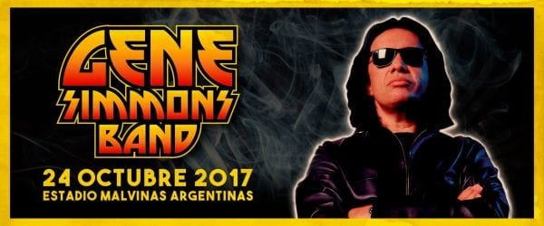 GENE SIMMONS BAND en Buenos Aires @ Estadio Malvinas Argentinas | Buenos Aires | Argentina