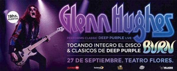 Glenn Hughes en Buenos Aires 2019 @ Teatro Flores