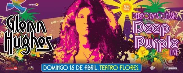 GLENN HUGHES en Buenos Aires @ Teatro Flores | Buenos Aires | Argentina