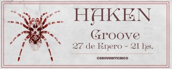 HAKEN en Buenos Aires @ Groove