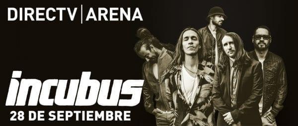 INCUBUS en Buenos Aires @ DIRECTV ARENA | Tortuguitas | Buenos Aires | Argentina