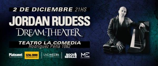 JORDAN RUDESS en Buenos Aires @ Teatro La Comedia | Buenos Aires | Argentina
