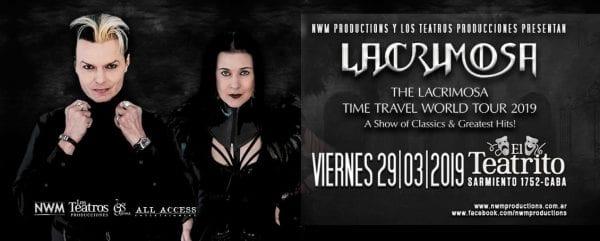 LACRIMOSA en Argentina @ El Teatrito