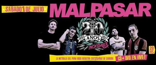 MAL PASAR en Niceto Club, Buenos Aires @ Niceto Club. | Buenos Aires | Argentina
