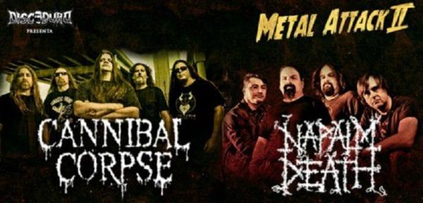 Festival Metal Attack Chile @ Teatro Caupolicán | Santiago | Región Metropolitana | Chile