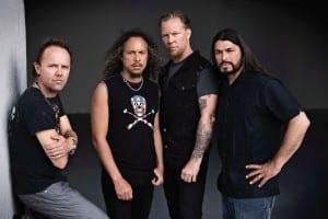 METALLICA se encuentra grabando su nuevo disco, aseguró James Hetfield