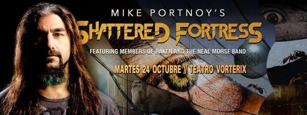 MIKE PORTNOY'S SHATTERED FORTRESS en el Teatro Vorterix, Buenos Aires @ Teatro Vorterix. | Buenos Aires | Argentina