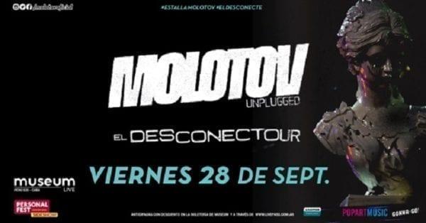 MOLOTOV en Buenos Aires @ Museum Live | Buenos Aires | Argentina