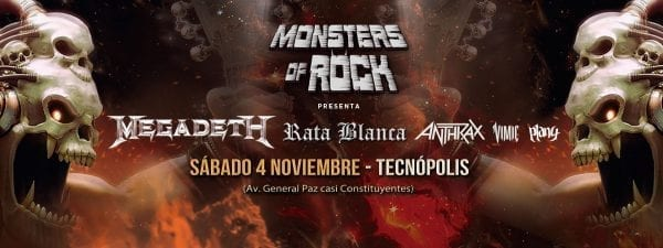 MONSTERS OF ROCK en Buenos Aires @ Tecnópolis | Vicente López | Buenos Aires | Argentina
