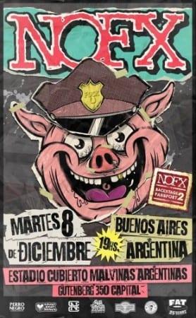 NOFX en Buenos Aires, Argentina