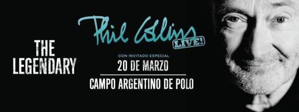 PHIL COLLINS en Buenos Aires @ Campo Argentino de Polo | Buenos Aires | Argentina