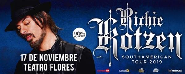 RICHIE KOTZEN en Buenos Aires 2019 @ Teatro Flores
