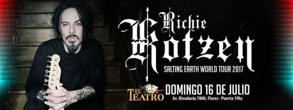 RICHIE KOTZEN en el Teatro Flores de Buenos Aires. @ Teatro Flores. | Ciudad Autónoma de Buenos Aires | Argentina