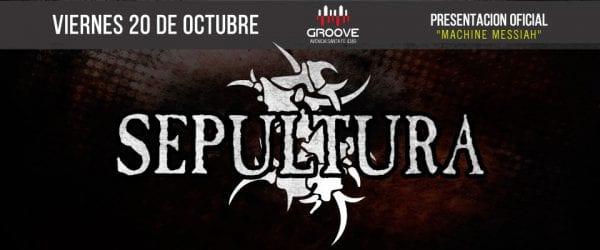 SEPULTURA en Groove, Buenos Aires @ Groove. | Buenos Aires | Argentina