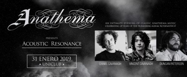ANATHEMA (Acoustic Resonance) en Buenos Aires @ Uniclub | Buenos Aires | Argentina